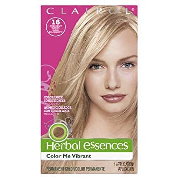 Herbal Essences Color Me Vibrant Permanent Hair Color 016 Knockout Blonde 1 Kit, 1 ct (Pack of 3)