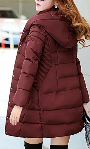 Coats 7 Jacket Quilted Padding today Womens Puffer Pocket UK Fit Slim Solid OnOA7SvW