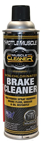 Throttle Muscle TM8487 - Brake Parts Cleaner 50 State Compliant Non-Chlorinated 13 Oz