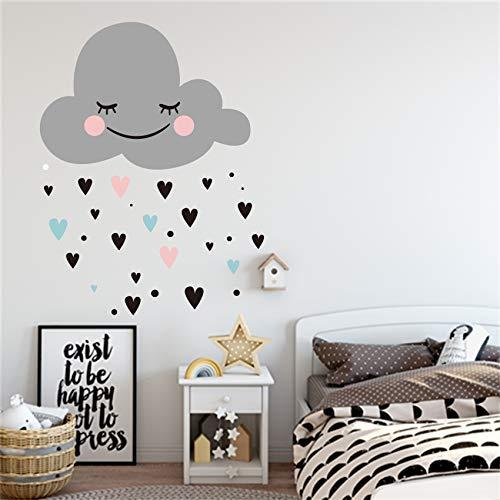alicefen Top Fashion Neymar Cloud Heart Vinyl Art Home Decor ...
