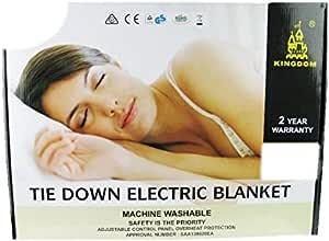 Kingdom Tie Down Electric Blanket - Double/Queen