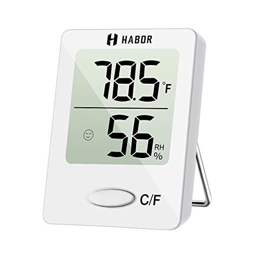 Used, Habor Digital Hygrometer Indoor Thermometer, Humidity for sale  Delivered anywhere in USA