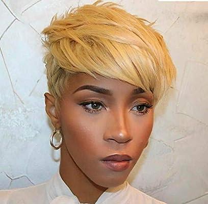 BeiSD Short Colored Hair Wigs For Women Short