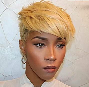 Amazon Com Beisd Short Colored Hair Wigs For Women Short Synthetic