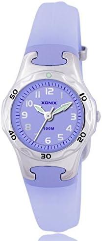 子供用腕時計 アニメ 女の子 男の子 防水 クォーツ ポインター 腕時計 G