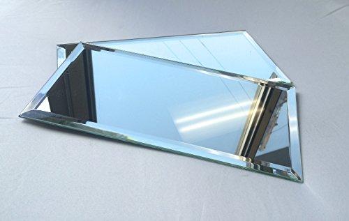 6x12 Wide Beveled Subway Mirror Tile Backsplashes Walls]()