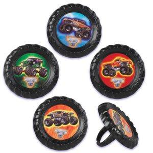 Monster Truck Jam Cupcake Rings - 12 ct by Bakery -