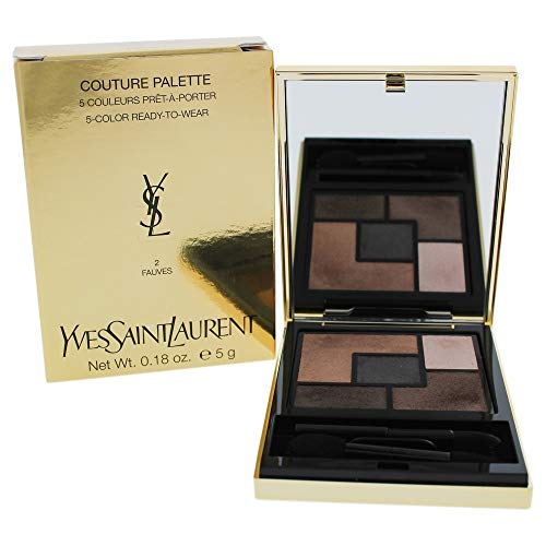 (Yves Saint Laurent Couture Palette (5 Color Ready To Wear) #02 (Fauves) 5g/0.18oz)