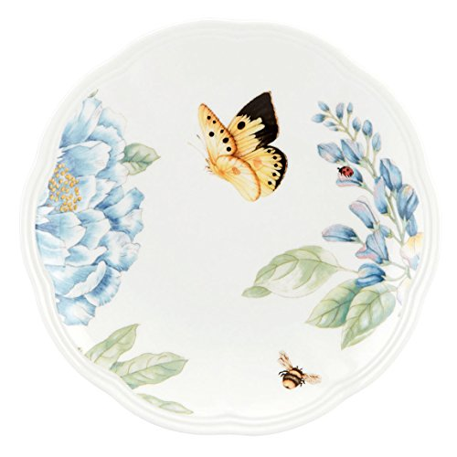 Lenox Butterfly Meadow Blue Party Plate Meadow Round Serving Plate