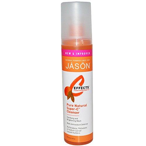 Jason C Effects Pure Natural - Jason Natural, C Effects, Pure Natural Super-C Cleanser, 6 fl oz (177 ml) - 2pc