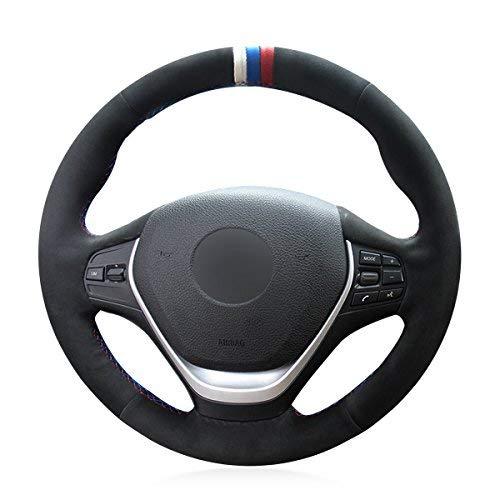 Amazon.com: MEWANT - Funda para volante para BMW F20 2012 ...