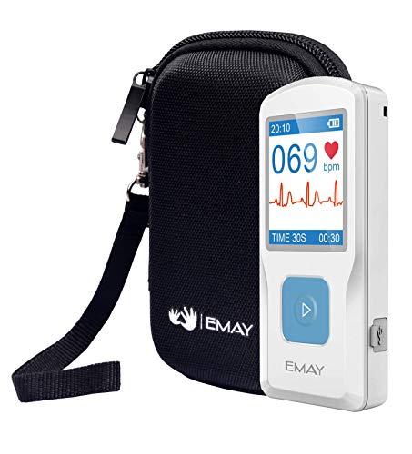 EMAY Funda rígida para EMAY Portable EKG (solo estuche) 14