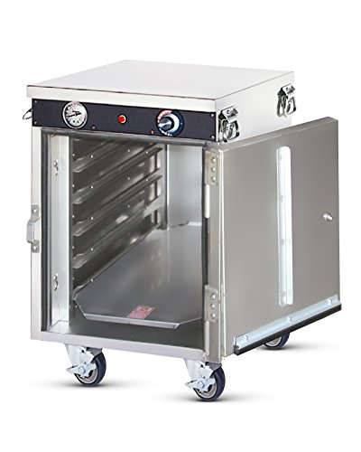 Food Warming Equipment HLC-5 Radiant Heated Holding Cabinet with Steam Table Pans, (Warming Equipment Steam Tables)