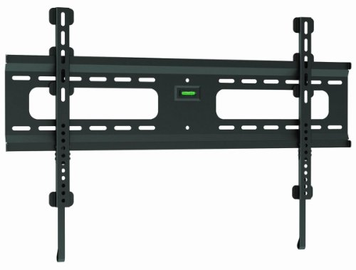 Ultra-Slim Black Flat/Fixed Wall Mount Bracket for Sceptre U658CV-UMC 65
