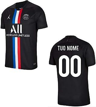 Maestri del Fútbol Camiseta Gara Negra Oficial Jordan PSG Paris ...