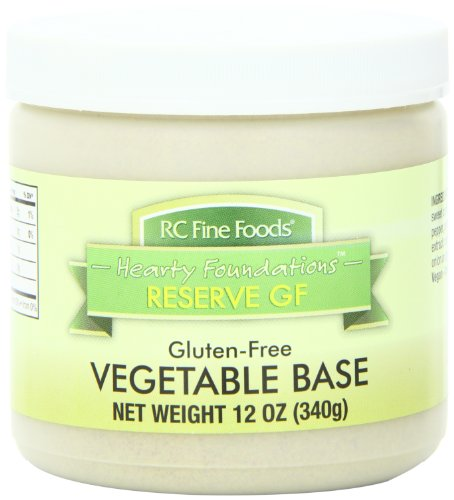 RC Fine Foods Hearty Foundations Reserve Gluten Free Soup Base, Vegetable, 12 Ounce by RC Fine Foods
