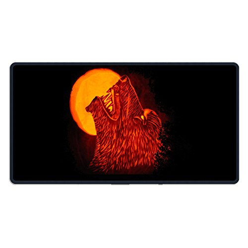 Best Pumpkin Carving Ever For Your Halloween Rectangle Non-Slip Rubber Mousepad Gaming Mouse Pad Great Gift (Carving Halloween Pumpkin Ideas)