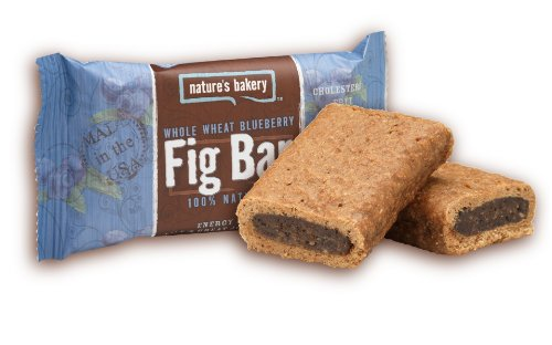 Nature's Bakery Whole Wheat Fig Bar Twin Pack, Blueberry, 2 Ounce (Pack of 12)
