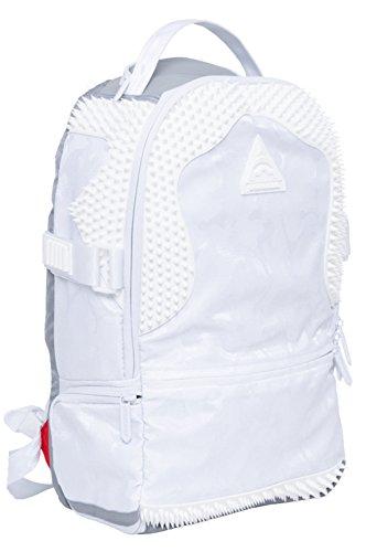 Knit Camo Spython Rubber Sprayground Backpack White HwqpHSf