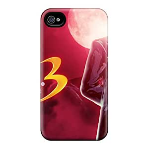 CDjXuJZ2875jMsUi Tpu Phone Case With Fashionable Look For Iphone 4/4s - Re Albert Wesker