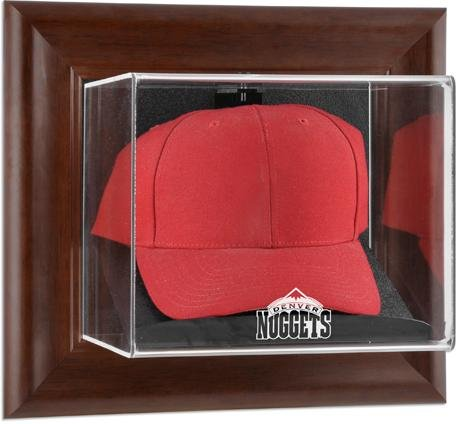 Denver Nuggets Brown Framed Wall Mounted Cap ()