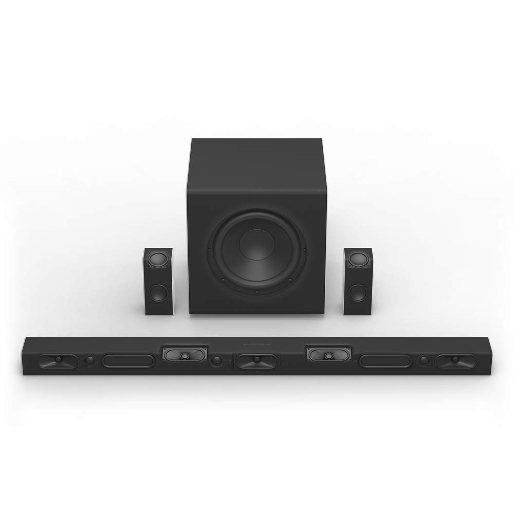 VIZIO SB46514-F6 46-Inch 5 1 4 Premium Home Theater Sound System with Dolby  Atmos and Wireless Subwoofer Plus Rear Surround Speakers