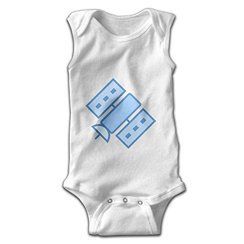 Efbj Toddler Baby Boy's Rompers Sleeveless Cotton Onesie Artificial Satellite Outfit Spring Pajamas Bodysuit