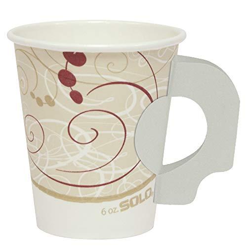 Hot Paper Cup Symphony (Solo 376HSM-J8000 6 oz Symphony SSP Paper Hot Cup (Case of 1000))