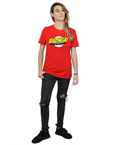 Sheldon T Bang Bazinga Fit Theory Big Rouge shirt Ami Petit The Femme IT4ZqU