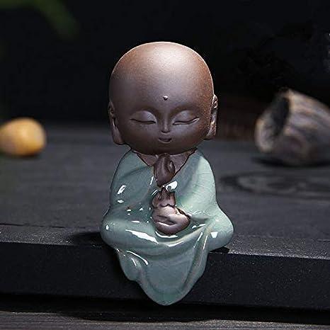 Amazon.com: Estatua de Buda de Kiartten – Estatua de Buda ...
