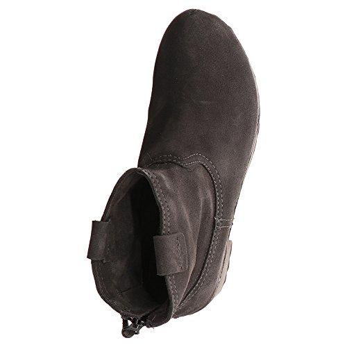 Softclox Damen Stiefeletten anthrazit 20 Schuhe S3354 INKEN UanfUB8