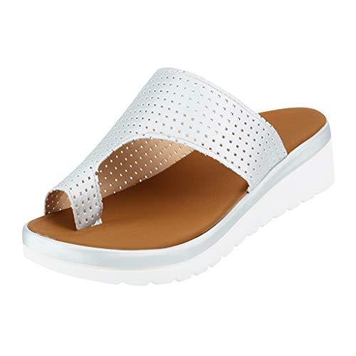 Staron  Women Thick Bottomed Sandal Shoes Platform Wedge Heel Sandals Clip Toe Summer Beach Shoes