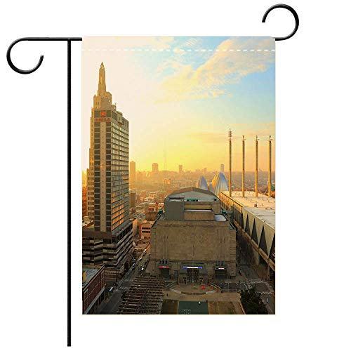 BEICICI Garden Flag Double Sided Decorative Flags Kansas City Missouri New Year 2017 Best for Party Yard and Home Outdoor Decor
