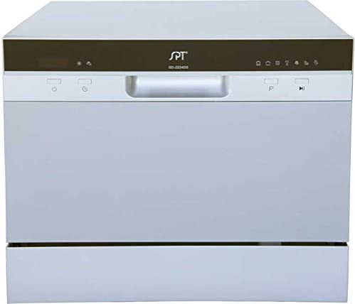 SPT SD-2224DS Compact Countertop Dishwas