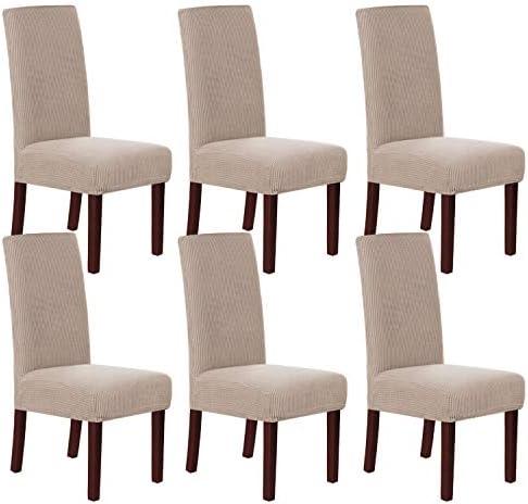 Verdicken Sie Stretch Spandex Dining Chair Schutzhüllen Barhocker Hussen