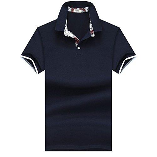 [ SmaidsxSmile(スマイズ スマイル) ] ポロシャツ シャツ トップス 半袖 襟付き カジュアル ゴルフ ウェア メンズ