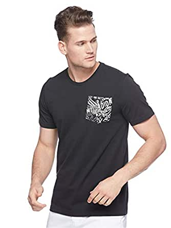 Adidas Men's Must Haves Pocket Graphic Tee (Short Sleeve), Black, Medium