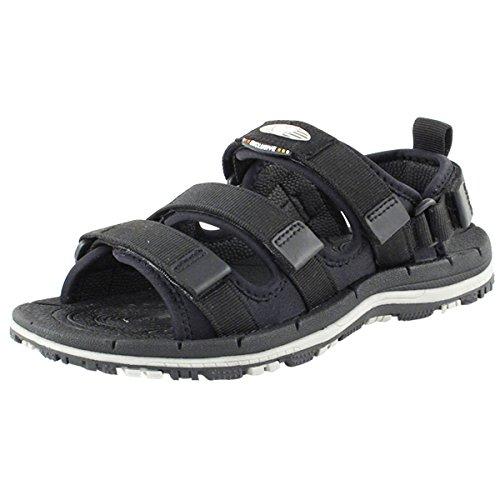 Gold Pigeon Shoes GP7656 Unisex Outdoor/Water Sandals: Prime-Black, EU38
