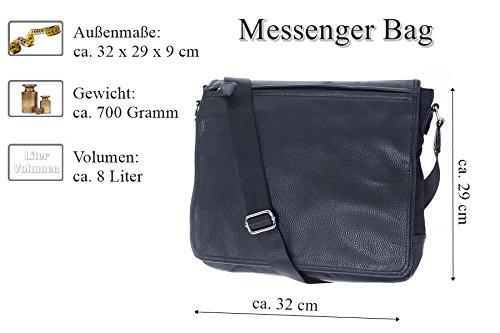 064c42c289cd2 ... Dokumententasche Kuriertasche Schultertasche Citybag Flugbegleiter  Umhängetasche Business Messenger Bag Tasche