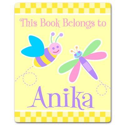 Olive Kids Flowerland - Olive Kids Personalized Flowerland Bookplates