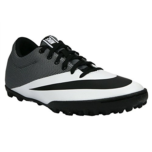 6fb7807b1e83 Nike MercurialX Pro TF Mens Football Boots 725245 Soccer Cleats (US 9.5,  white black 100)