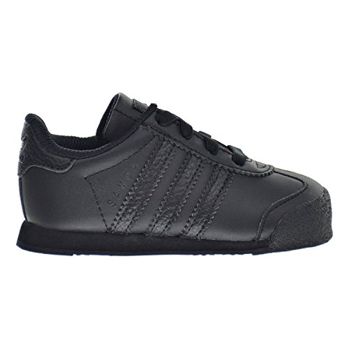 Price comparison product image adidas Originals Kids' Samoa I Sneaker,  Black / Black / Black,  8 M US Toddler