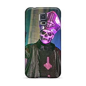 DannyLCHEUNG Samsung Galaxy S5 Perfect Cell-phone Hard Cover Unique Design Colorful Lullacry Band Skin [LFO13212HIik]