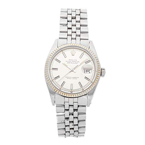 Rolex Datejust Mechanical (Automatic) Silver Dial Mens Watch 1601 (Certified Pre-Owned)