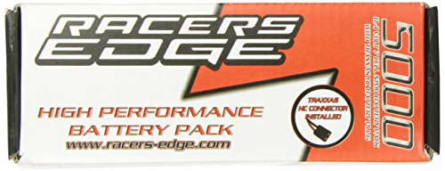 Racer's Edge 8.4V 5000mAh cell NiMH RC Battery Flat Pack with TRX Plug ()
