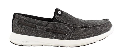 Sperry Hombres, Sojourn Slip On Zapatos Negro