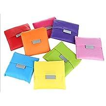 C-Pioneer Fashion Reusable Folding Shopping Bag Travel Bag Grocery Bags Shopper Tote