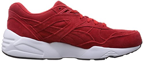 Unisex white R698 red Allover high black Puma Adulto Sneaker risk tUOnq8