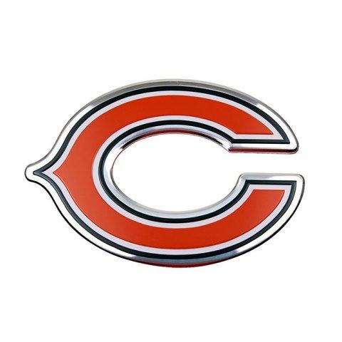 Team ProMark NFL Chicago Bears Die Cut Color Automobile Emblem ()