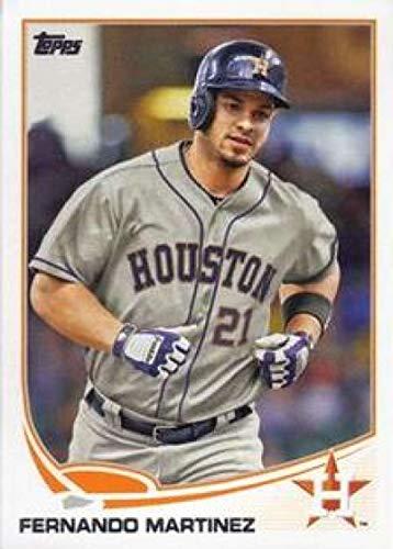 2013 Topps Mini #598 Fernando Martinez Astros MLB Baseball Card NM-MT